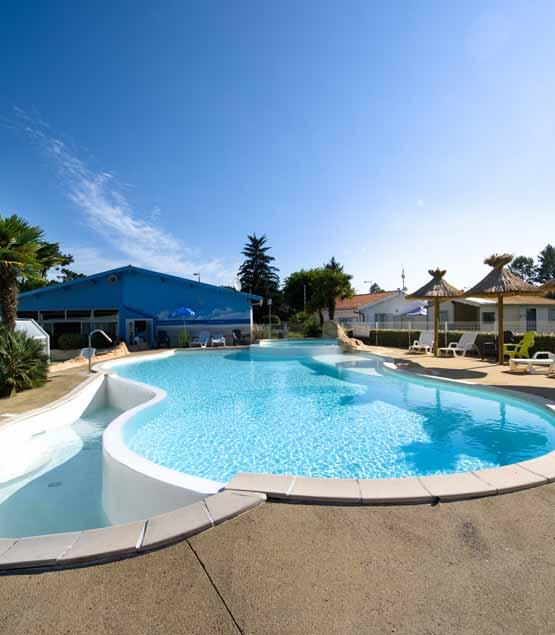 Camping pas cher piscine Biscarrosse