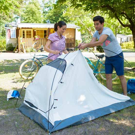 Emplacement pas cher camping Landes
