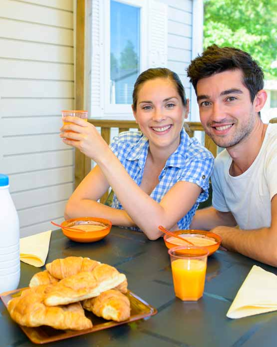 Mobil-home pas cher camping Landes