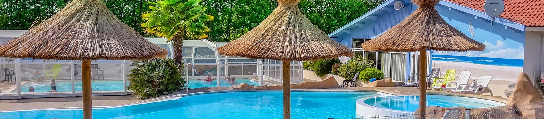 camping piscine tarifs landes