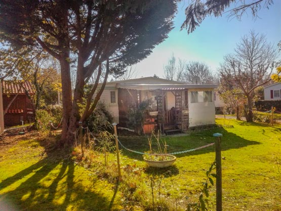 vente mobil-home irm camping landes