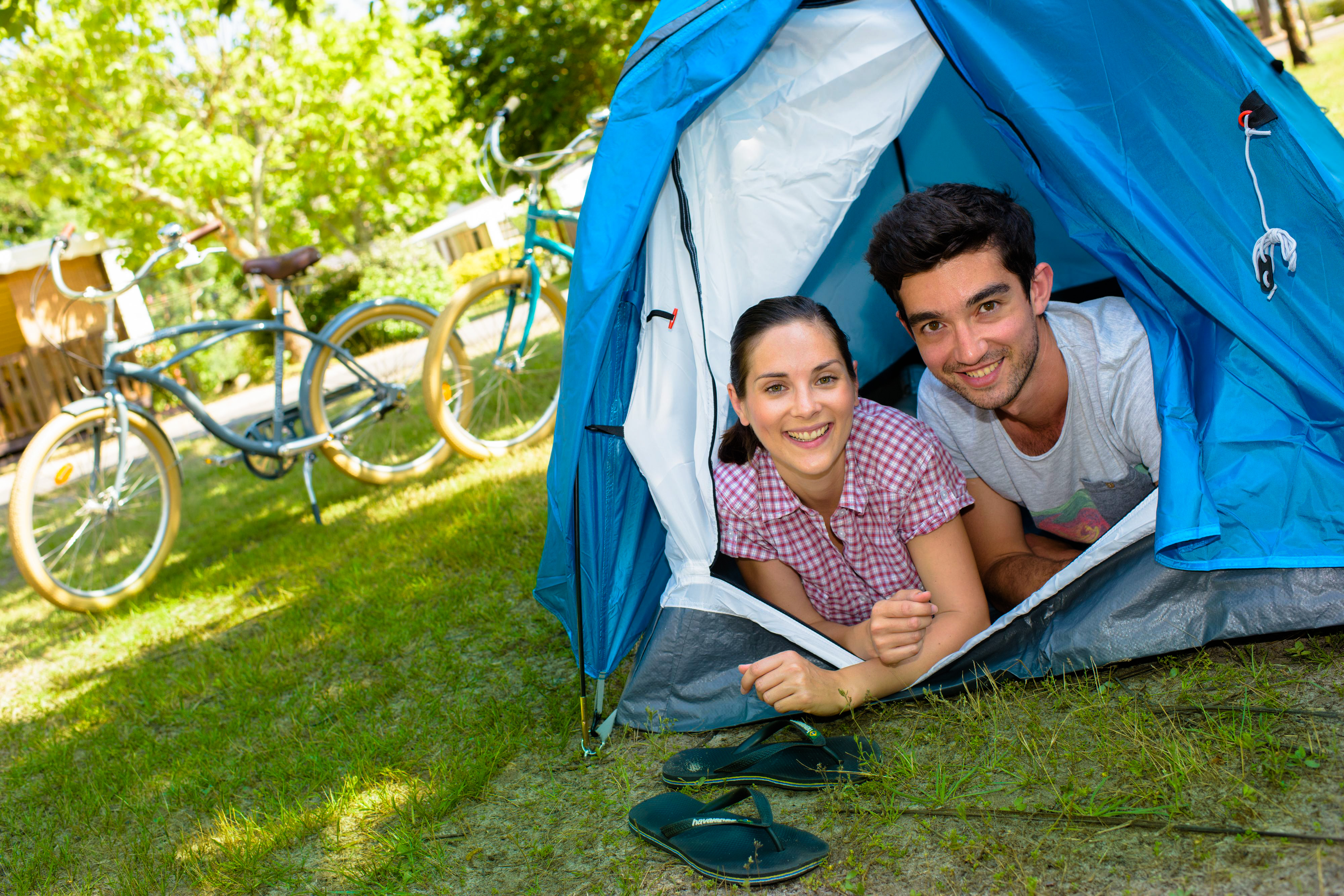 terrain de camping Landes