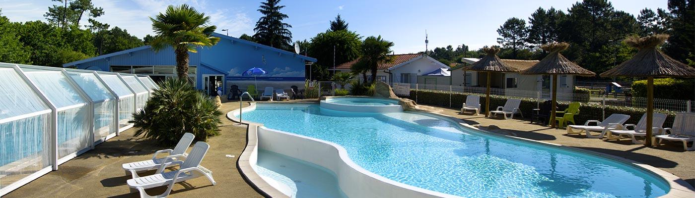 camping piscine acsi landes