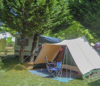 camping tente landes