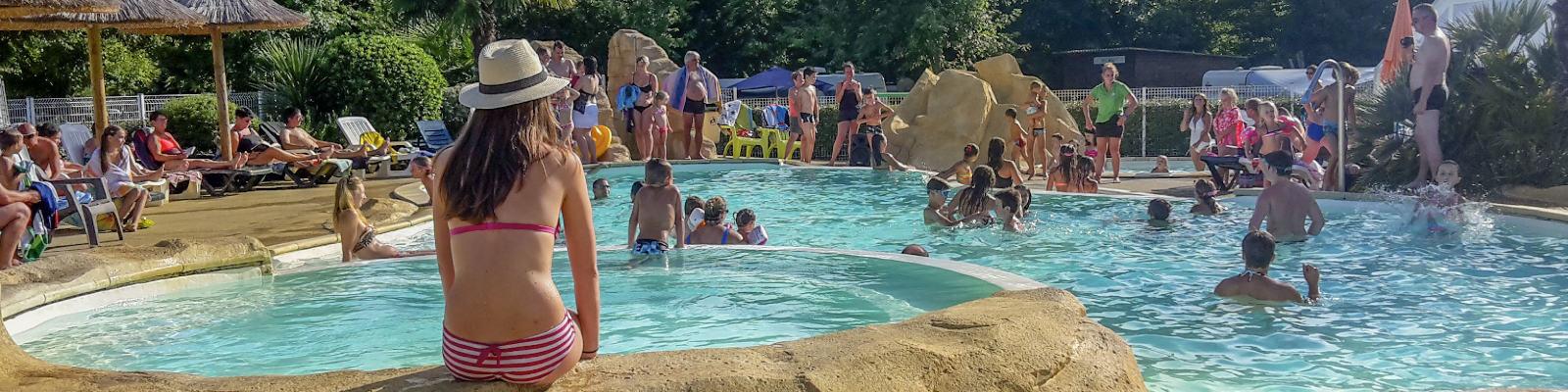 Camping avec piscines dans les Landes