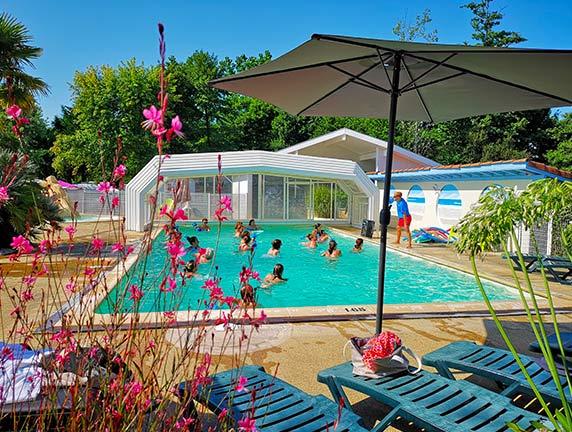 acampar con parque acuático