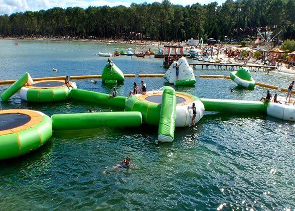 aqua park biscarrosse