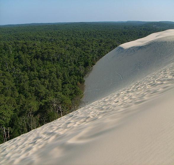 monter la dune du pyla