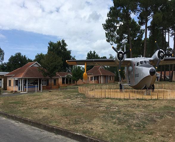 visite du musée de l'hydraviation