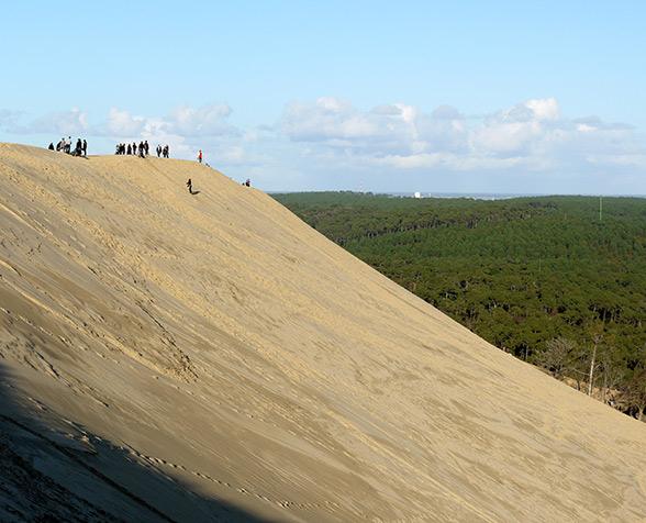 visiter la Dune du Pyla