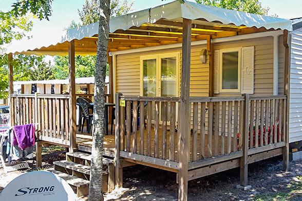 camping mobil-home équipés