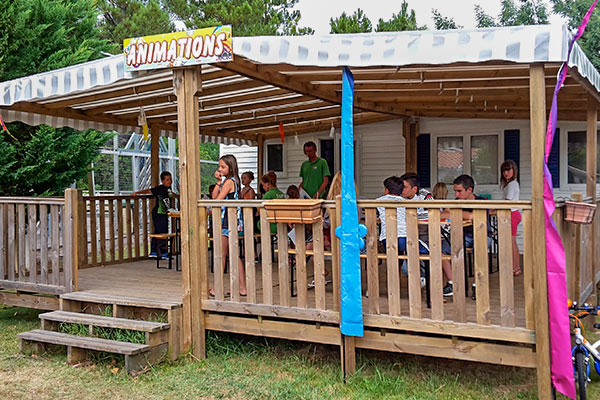 camping animations landes