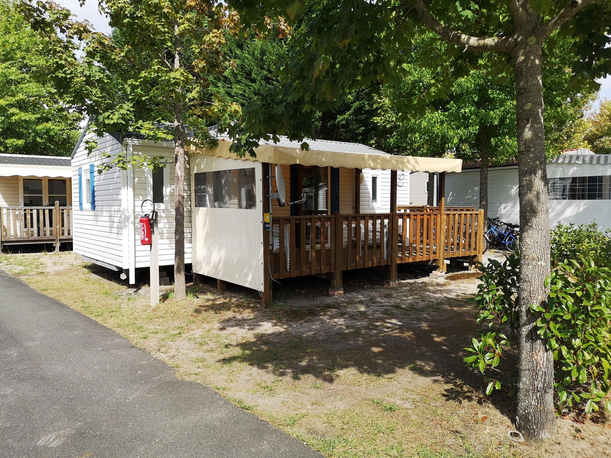 vente mobil-home Biscarrosse plage