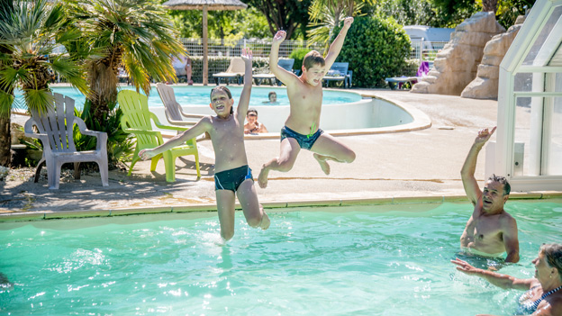 camping biscarrosse piscine couverte