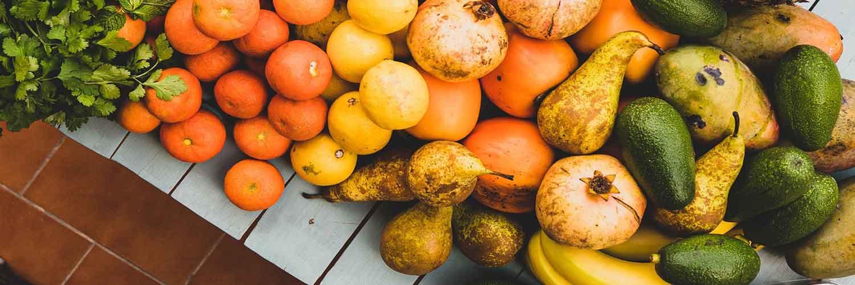 fruits au marché d'Arcachon